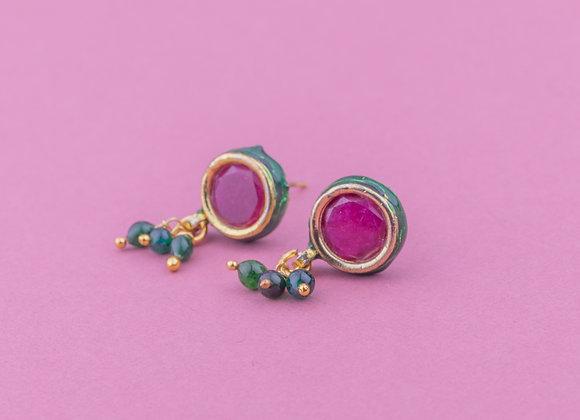 Meena Bindi Earrings