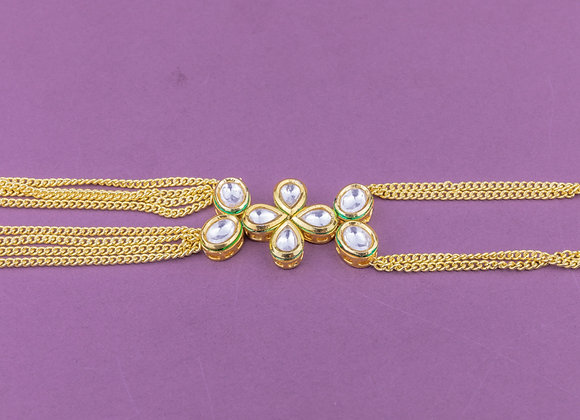 Kundan Chains Hand Harness