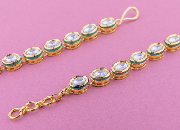 Kundan Ear Chains