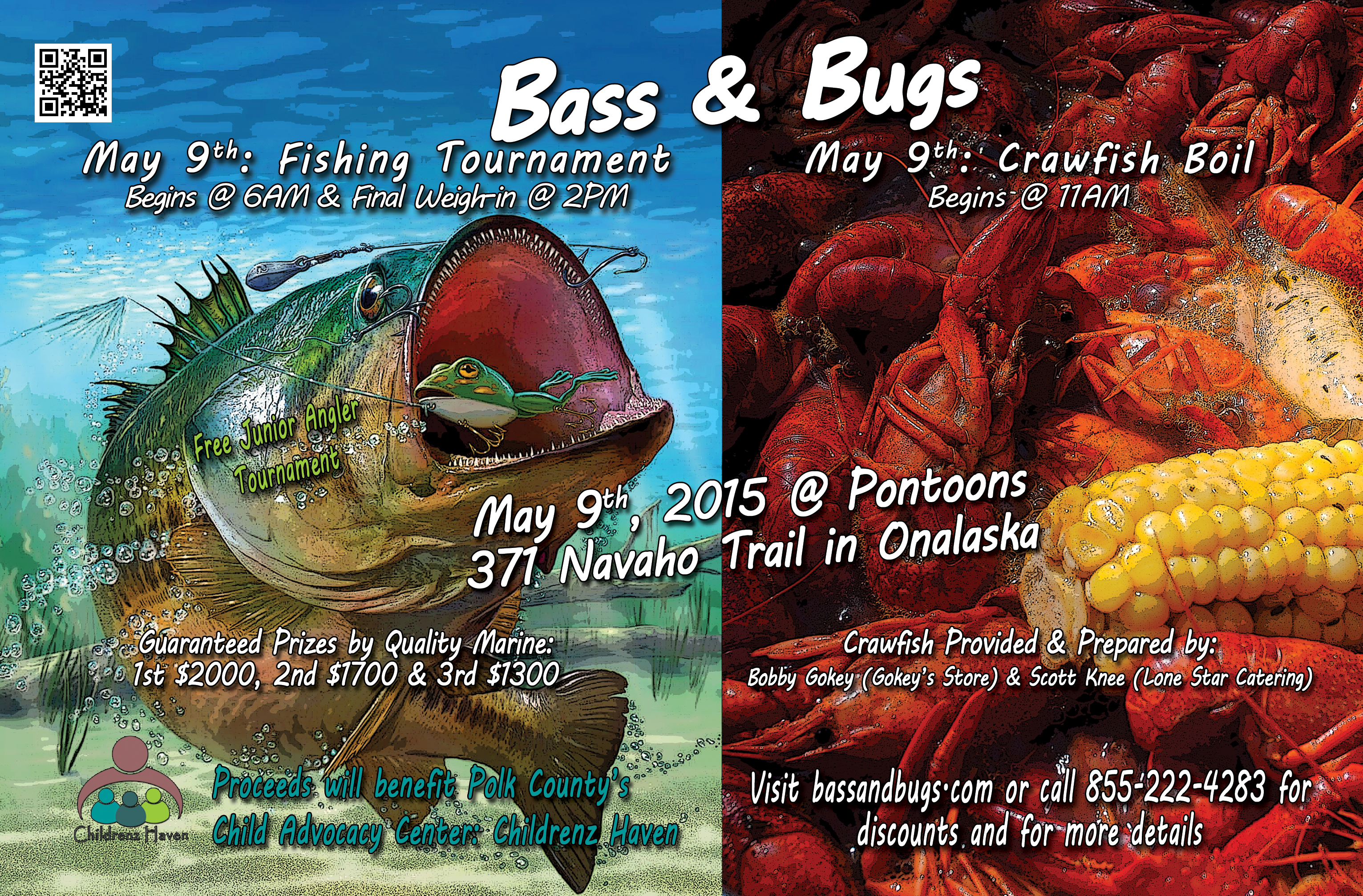 Bass and Bugs
