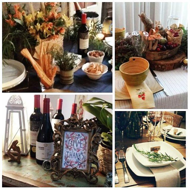 Jantar de Thanksgiving - Residência