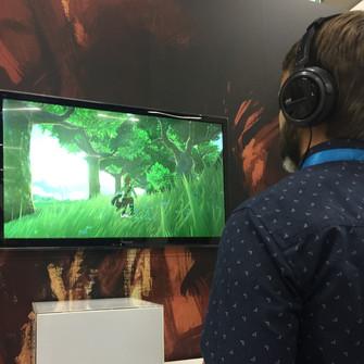 Andrew spelar Zelda för första gången