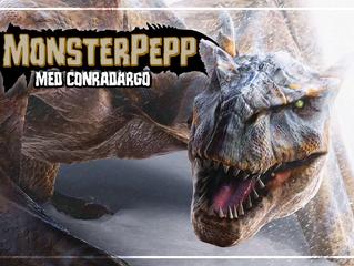 Monsterpepp med ConraDargo