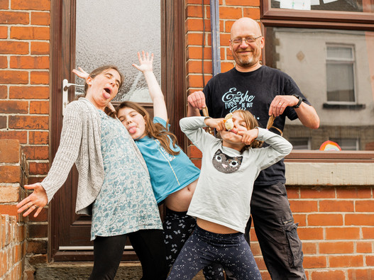 Family Photography Sheffield Children by G & A Media