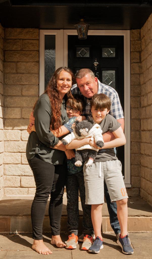 Family Photography Sheffield Summer Portrait G & A Media