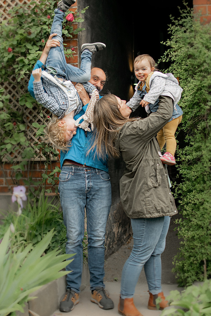 Family Portrait Photography by G & A Media Sheffield