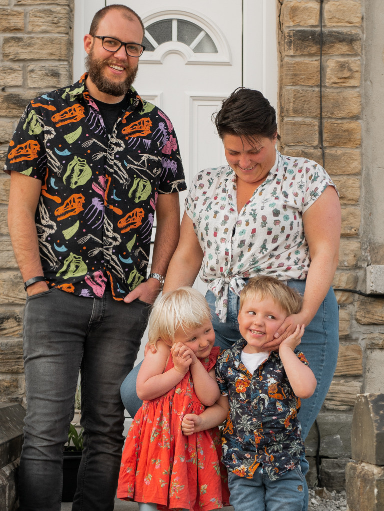 Family Photography Sheffield Portrait Outdoor by G and A Media Kids
