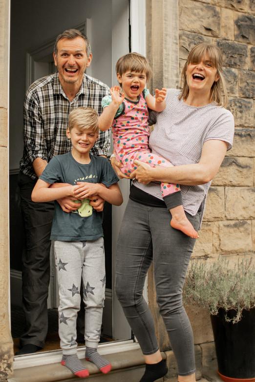 Family Portrait Photography by G & A Media Sheffield