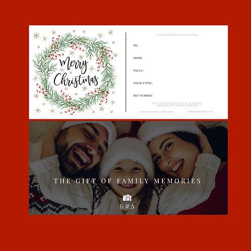 Christmas Themed Gift Card
