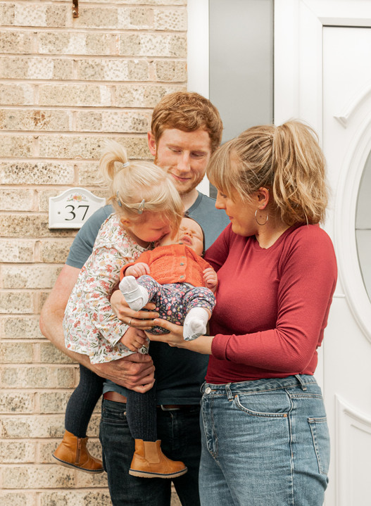 Family Photography G & A Media Sheffield Toddler Newborn