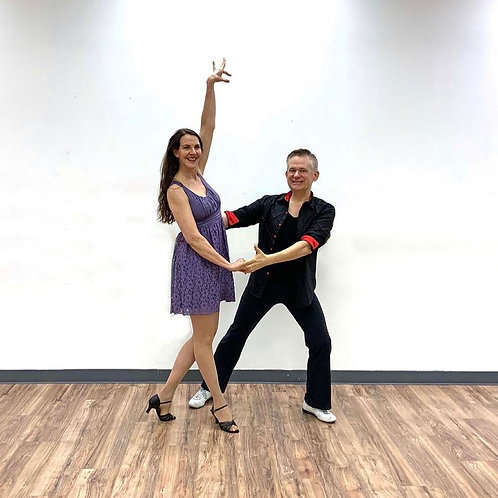 ONE FORMAT- Couple's Salsa or Swing, 4 week session