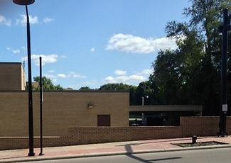 New Vine Street Wall