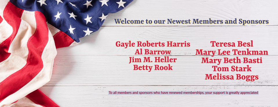 Welcome Newest Members