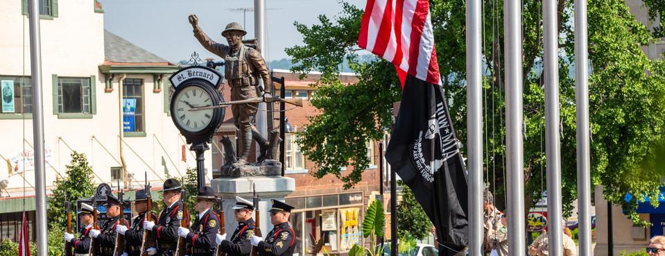 Memorial Day 2018 (Photo Credit: Jim Heller)