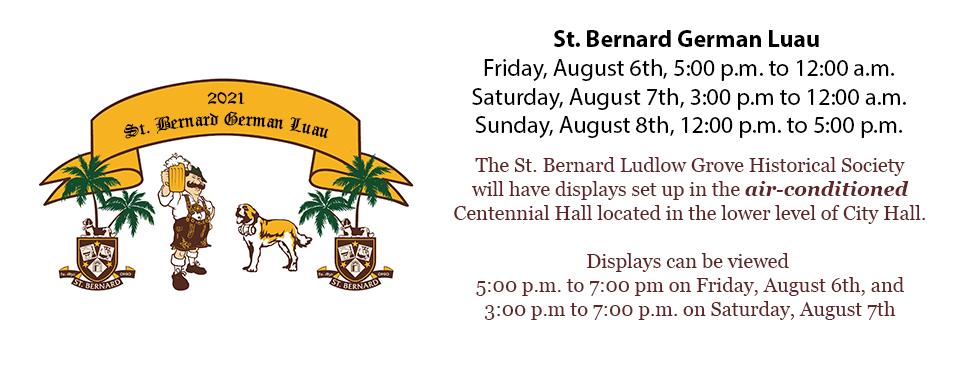 St. Bernard German Luau