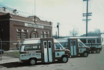 St. Bernard Dial-A-Ride Busses
