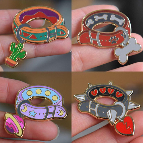 Passion Collars Enamel Pins