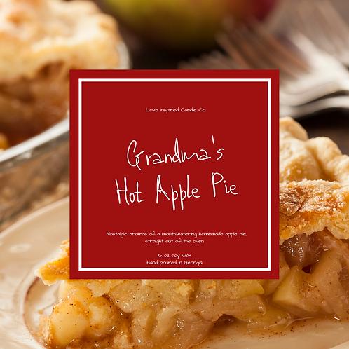 Grandma's Hot Apple Pie