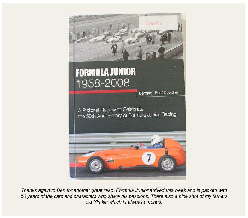 Ben Cowdrey Formula Junior Yimkin
