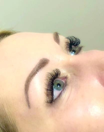 Loved doing this set of fluffy lashes th