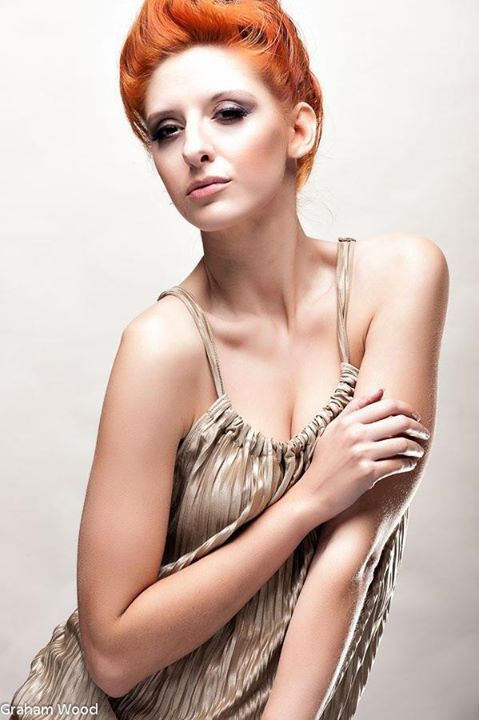 Loved doing this Fashion shoot hair & ma