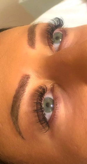 Loved how this set of lash extensions tu