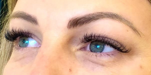 Some more lovely lash extensions. Loving