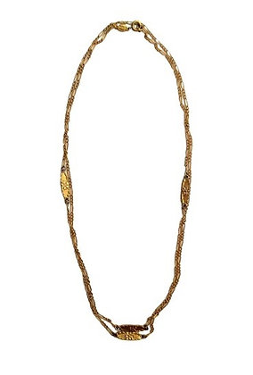 Dior Long Gold Necklace