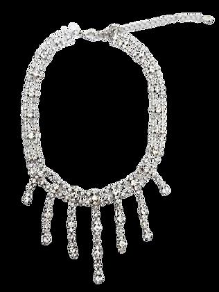 Diamante Choker Necklace Strands