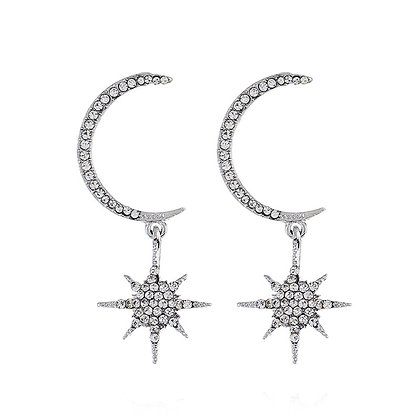 Stars & Moon Earrings