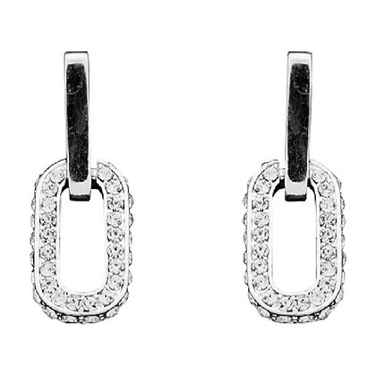 Art Deco Rhinestone Earrings