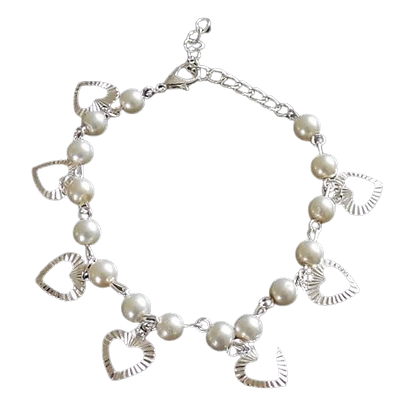 Ankle Bracelet With Charms
