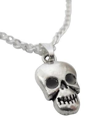 Skeleton Face Necklace