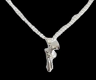 Gun Necklace