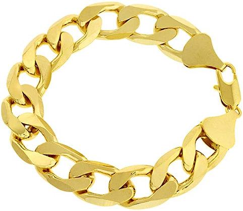 Imitation Gold Chunky Bracelet