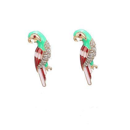 Large Parrot Earrings