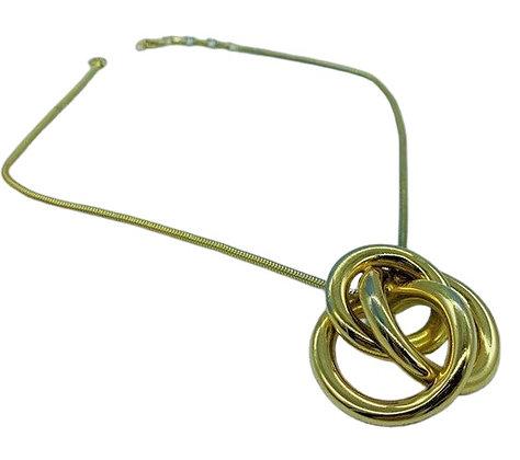 Vintage Signed Grosse Pendant Necklace