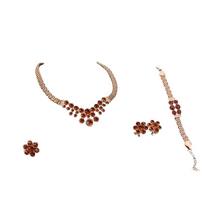 Four Piece Amber Jewellery Set