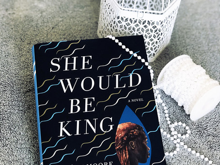 BOOK REVIEW - SHE WOULD BE KING