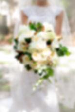 peony magnolia bouquet