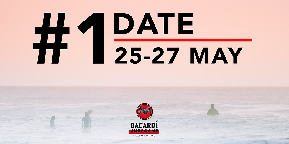 Surf Camp #1 25 - 27 MAY 2018
