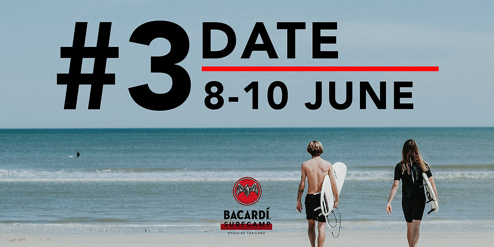 Surf Camp #3 8 -10 JUNE 2018