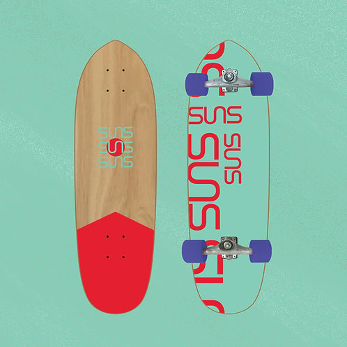 Suns Surfskate Model ELIO Color : EL04