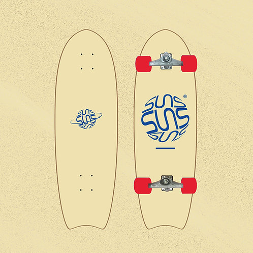 Suns Surfskate Model Astennu Color : AS05