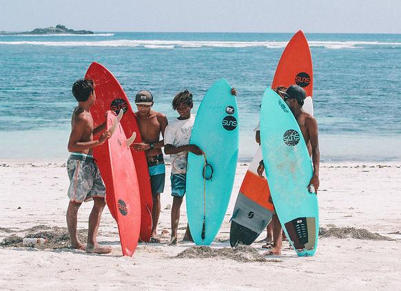 Suns Surfboard