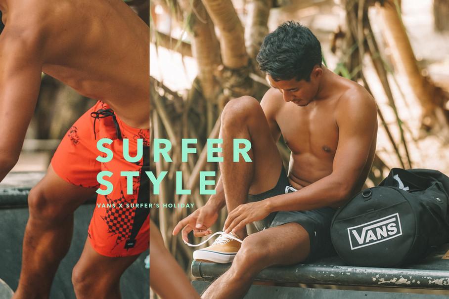SURFER STYLE X VANS