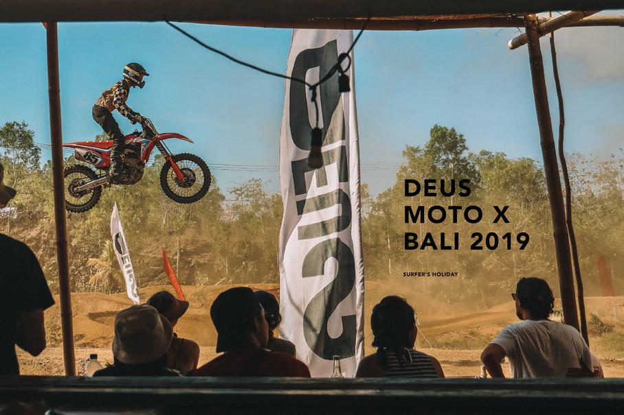 DEUS MOTO X BALI 2019