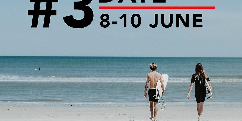 Surf Camp #3 8 - 10 June 2018