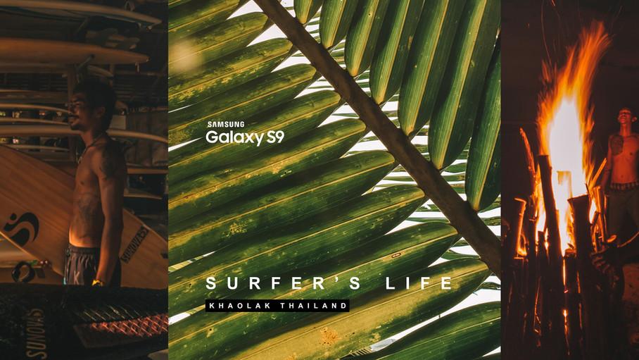 SURFER'S LIFE : GALAXY S9