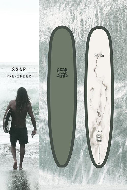 SUNS Longboard x SSAP ( Pre-Order  )